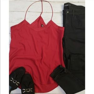 Express - Red Camisole Tank Top